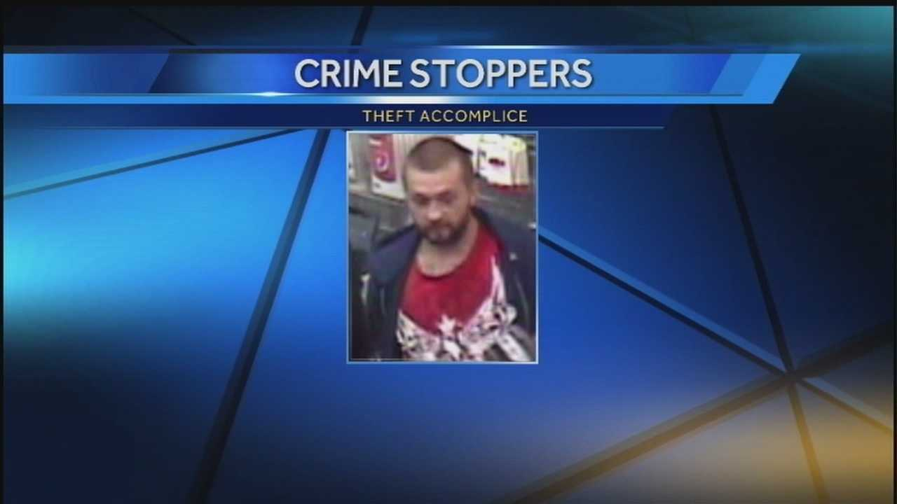 Man wanted in car, credit card theft