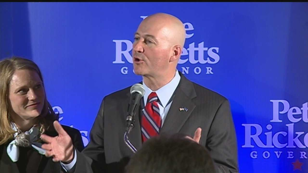 Ricketts wins Nebraska gubernatorial primary
