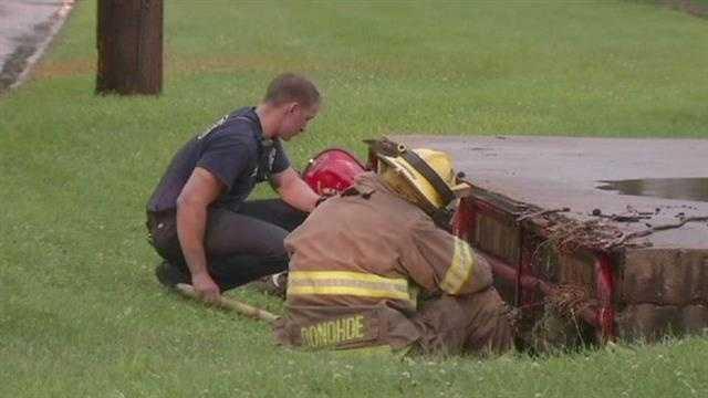 flood storm drain rescue 1
