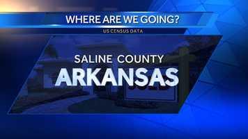 9. Saline County, Ark. (Southwest of Little Rock)