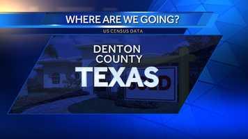 10. Denton County, Texas. (Dallas-Fort Worth)
