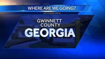 2. Gwinnett County, Ga. (Northeast of Atlanta)