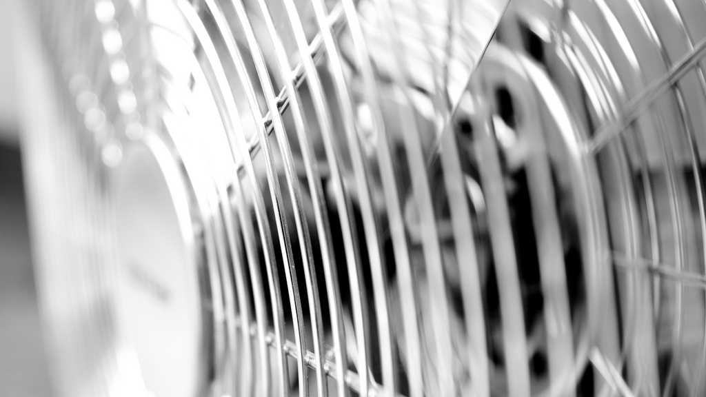 generic fan - closeup
