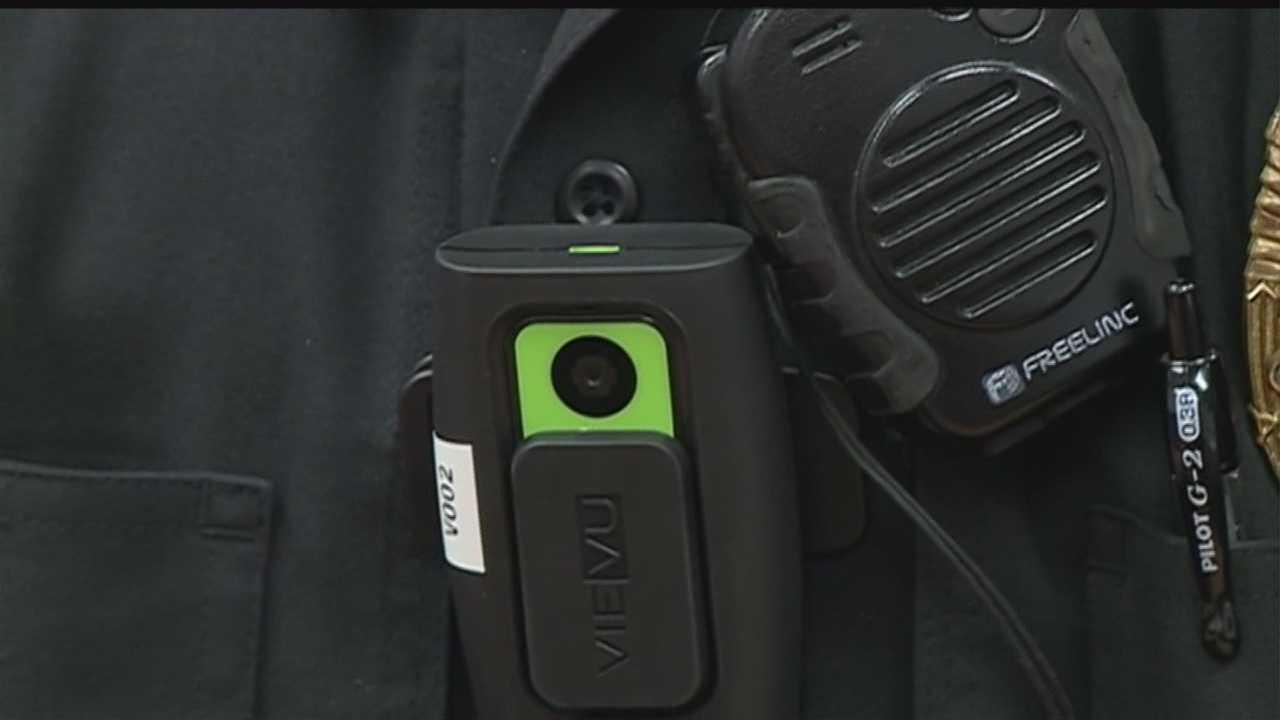 Bellevue officers start using body cameras
