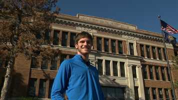 Grant Martin, Omaha North High Magnet School -Grant has a 3.8 grade point average and is captain of the football team. He is involved in National Honor Society, Skills USA, track, is a Senior Class officer and coach's elementary students each summer.