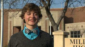 Spencer Collins, Millard West High School -- Spencer has a 4.172 grade point average and is an Eagle Scout. He participates in National Honor Society, Tri M Music Honorary, various school bands and was lead trumpet with the Colts Drum & Bugle Corp.