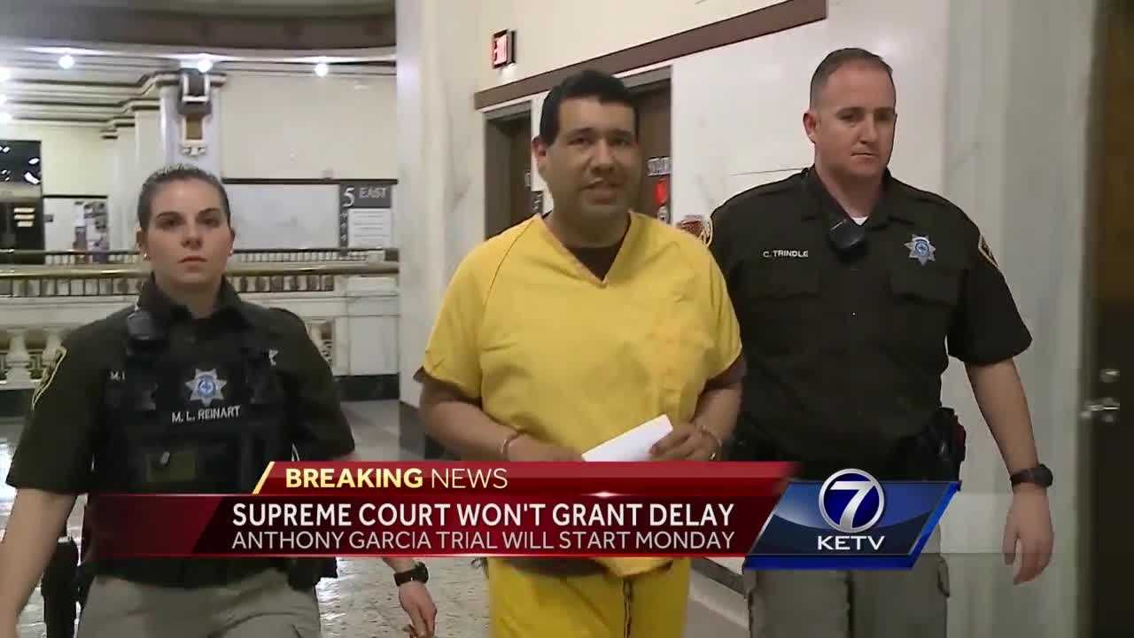 Supreme Court won't grant delay in Garcia trial