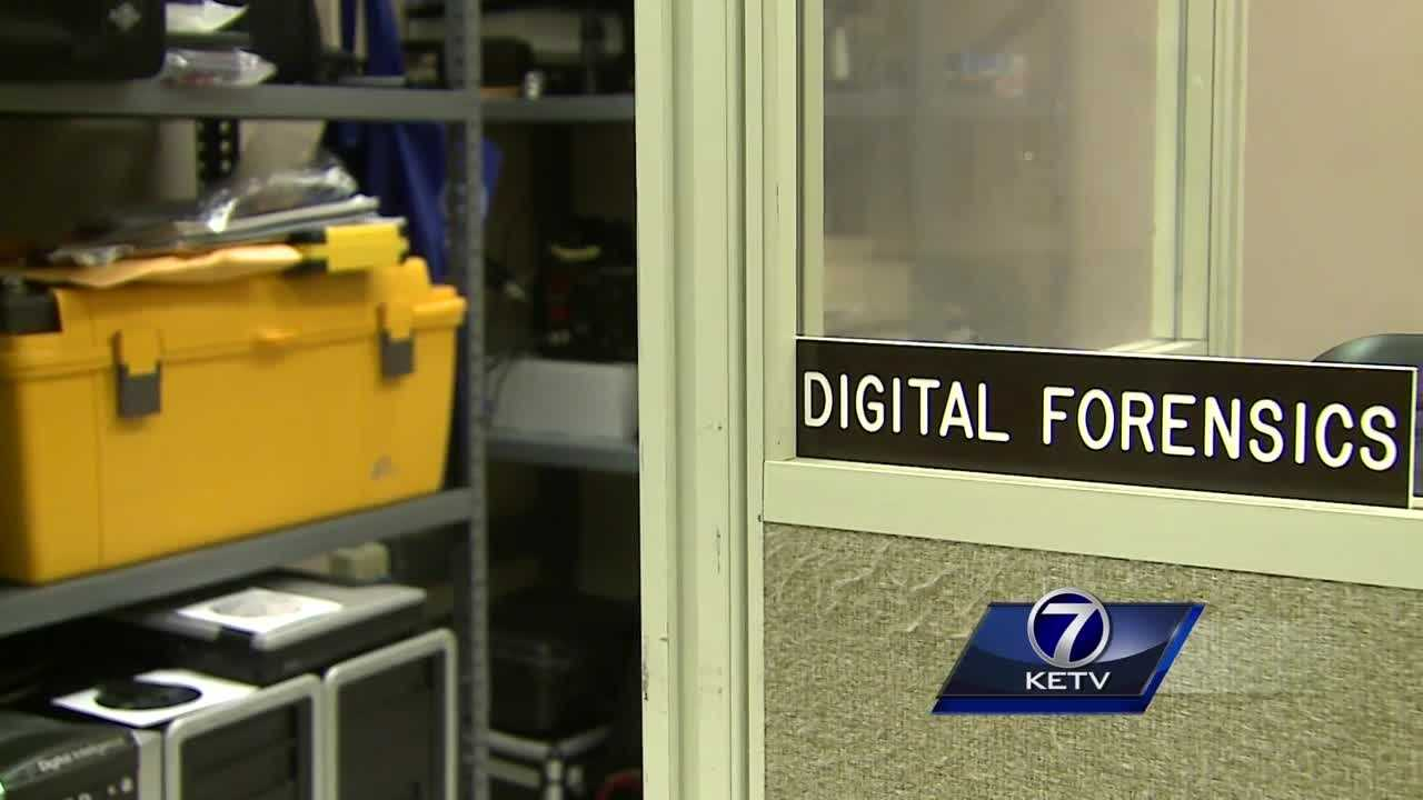 Omaha Police Department's digital forensics team unlocks cases with phones