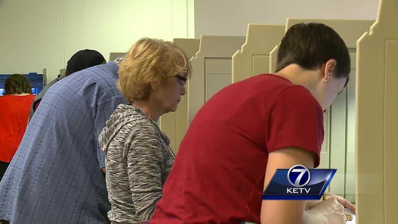 Early voting in Nebraska gets underway