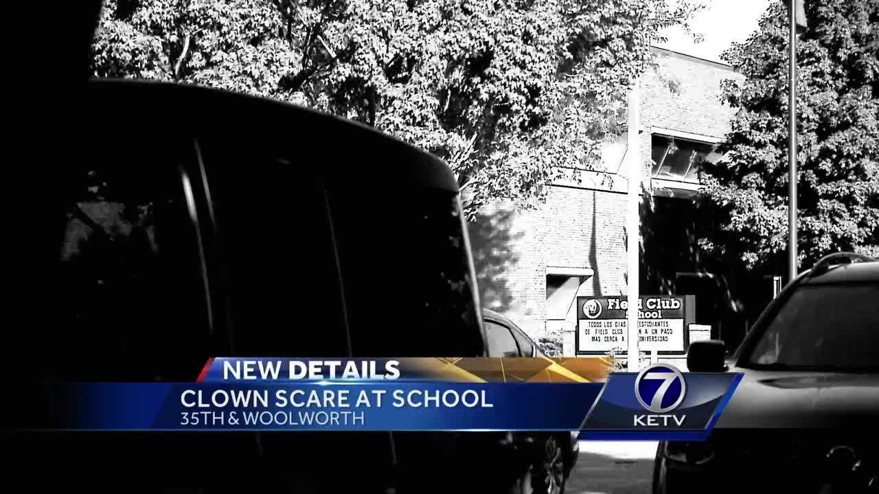 Clown scare near Omaha school