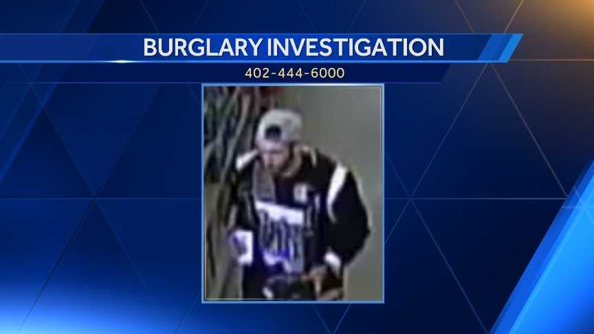 Douglas County Burglary Suspect
