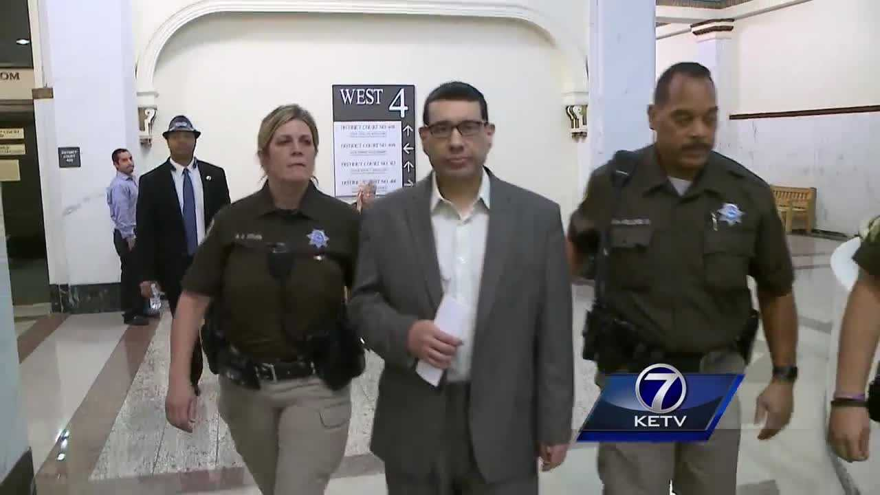 Chemically disintegrated documents found inside Garcia home