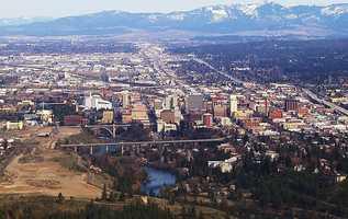 5. Spokane, Wash.