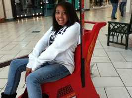 Lakayla Huff, 15-year-old stabbing victim.