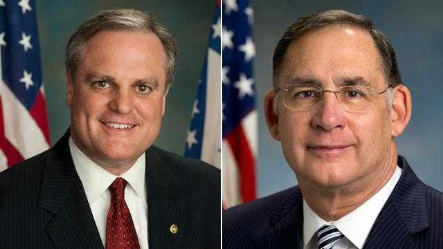 pictures of senators mark pryor and john boozman