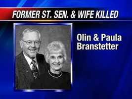 Eyewitness News 5 has confirmed that former Oklahoma State Sen. Olin Branstetter and his wife, Paula, were killed in the plane crash that killed OSU coaches Kurt Budke and Miranda Serna.