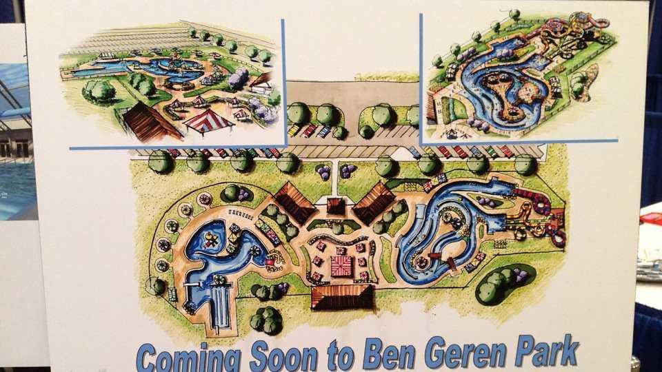 Ben Geren Aquatics Facility artist's renderings