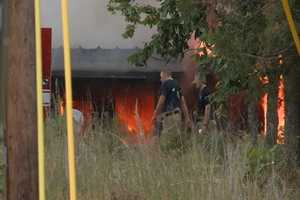 A fire broke out in Bella Vista off of Macnelly Road after 7 p.m. Wednesday. Deputy Chief Glenn Puryear said the home had been abandoned and there were no nearby hydrants.