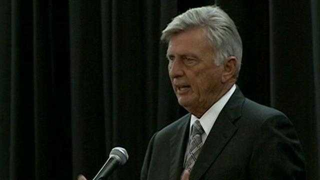 Governor Beebe talks about the economy