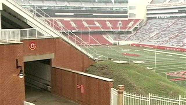Rules for Razorback Stadium