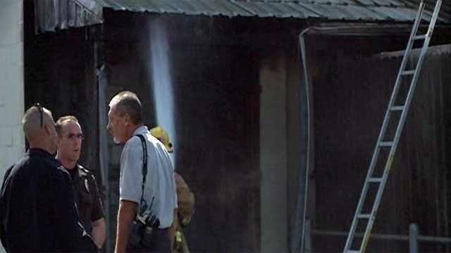 Springdale Christian Church catches fire