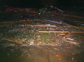 The National Weather service believes the damage caused in Rogers was due to a tornado.