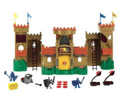 Castle magically recognizes approaching dragons, ogres and battlements to warn of impending attacks!