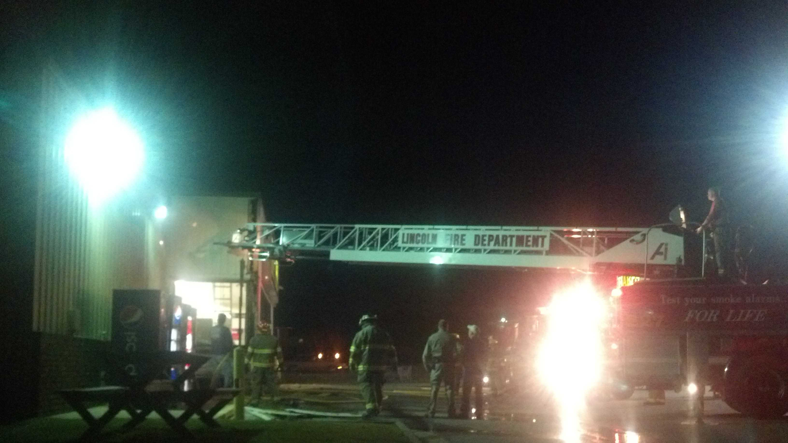 Fire Departments respond to Harp's