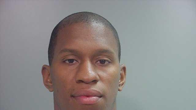 Former Razorback football player Ken Hamlin was arrested in Fayetteville early Saturday morning