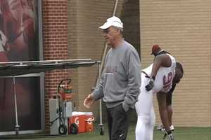 On April 23, the University of Arkansas announced that John L. Smith, the Razorbacks' former special teams coach and Bobby Petrino's mentor, was hired as head coach and signed to a 10-month contract. Smith left the head coaching job at his alma mater, Weber State, to return to Fayetteville.