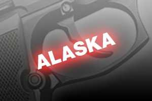 5. Alaska, NICS background checks per 100k residents: 14,616