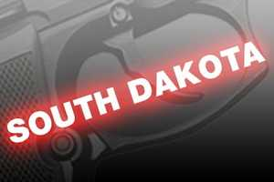 8. South Dakota, NICS background checks per 100k residents: 13,624