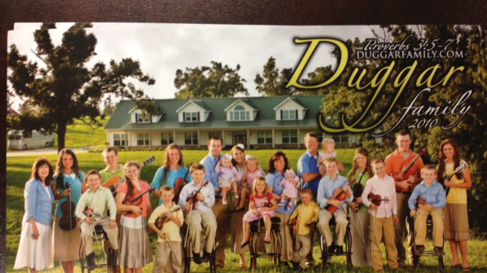 The Duggar's Family Photo
