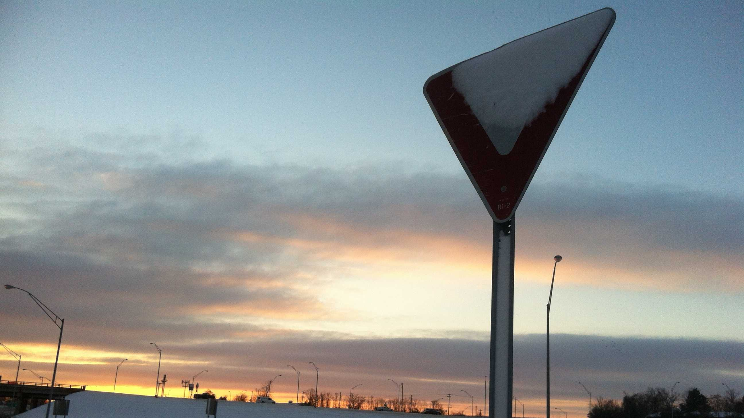 Snow slows drivers Wednesday morning