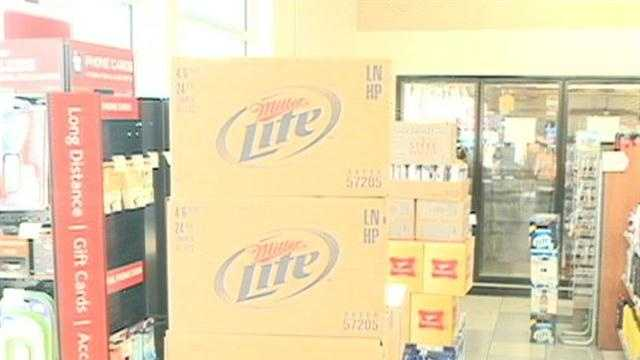 Kum and Go in Rogers could become the very first store to sell beer and wine in Benton County.