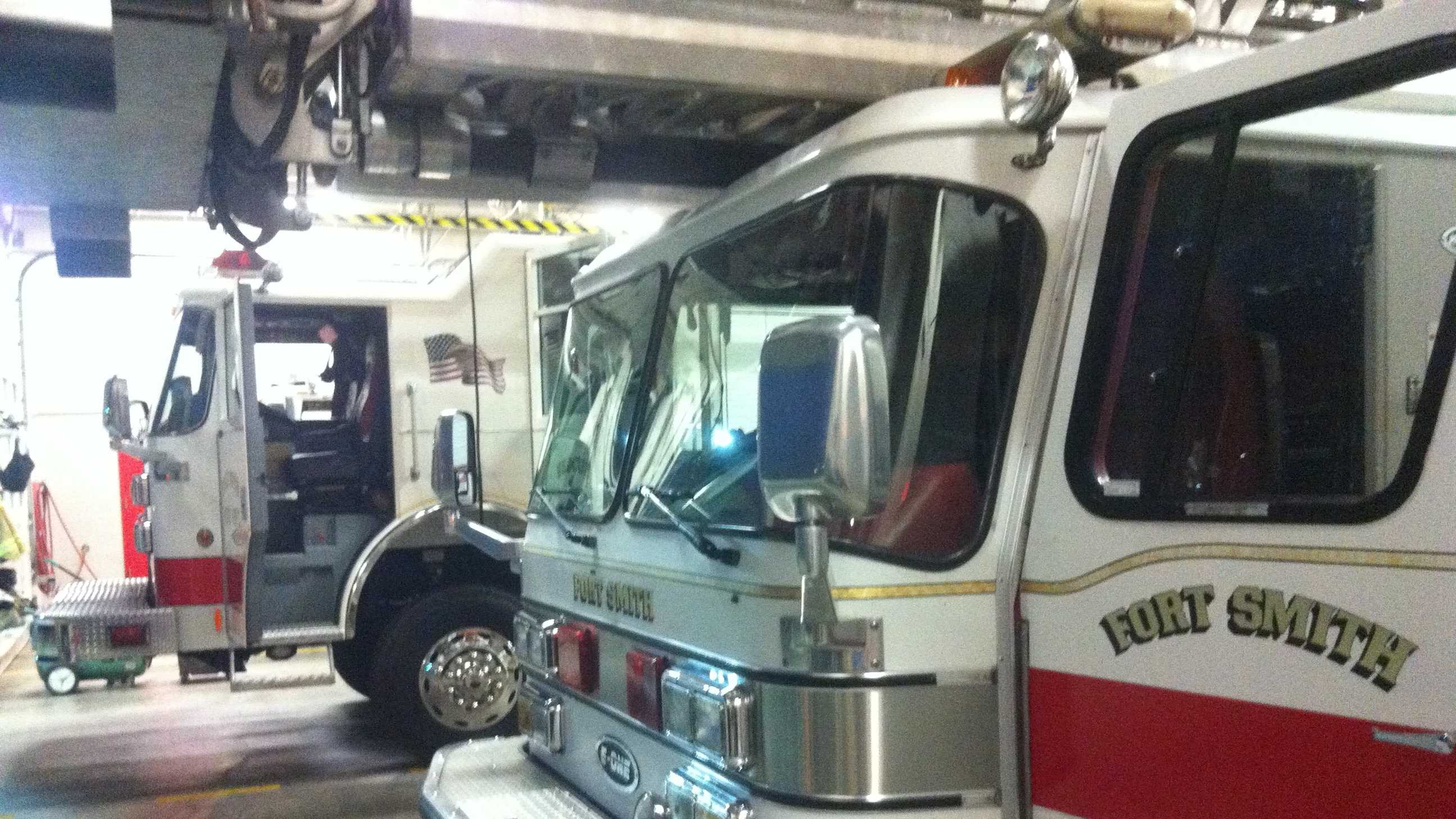 The Fort Smith Fire Department will be getting several new fire vehicles, including three new ladder trucks.