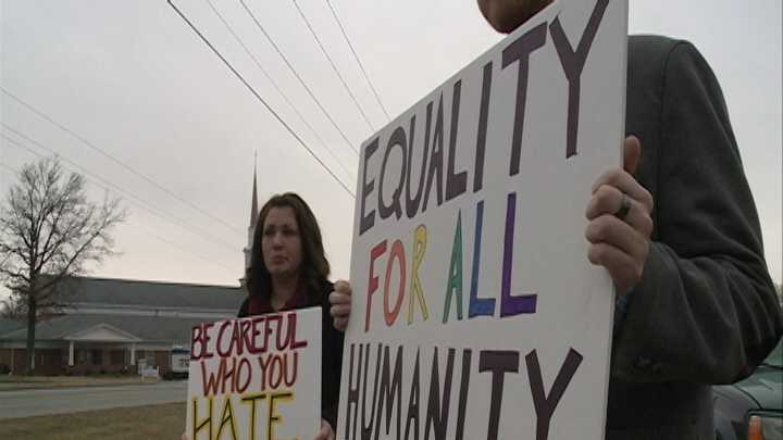 Groups claims their reservations were canceled because of beliefs