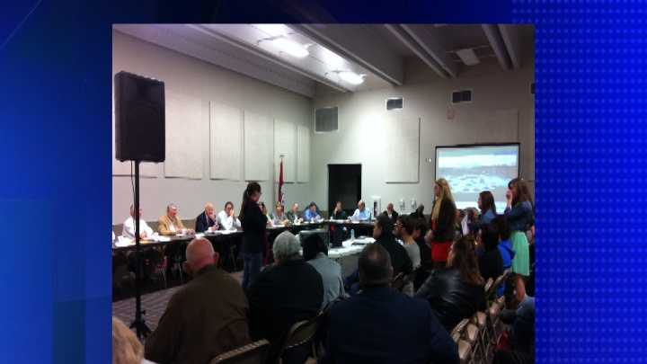 Teens speak at Ben Geren Aquatics Park public meeting