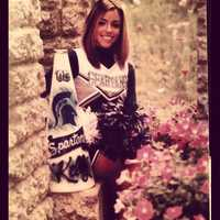 3. Kelly was a cheerleader and gymnast starting at age six. She continued all the way through senior year of high school.