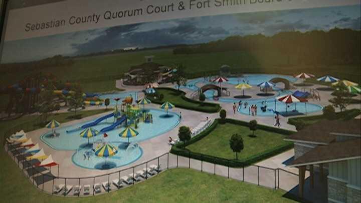 Aquatics center renderings