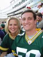 I was born in Green Bay, Wisconsin, so I'm a huge Green Bay Packer fan. It's tradition for us to go up each fall for a Packer game at Lambeau Field. We make it a family reunion.