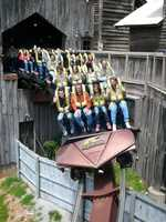 There's a good chance you will see my family at Silver Dollar City in Branson. I'm a roller coaster junkie. I can't wait to ride the new Outlaw Run this spring.