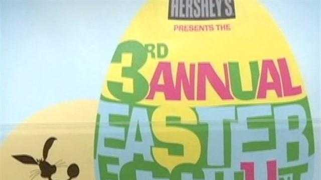One city has canceled its Easter egg hunt, and another is in jeopardy because of the wet weather.