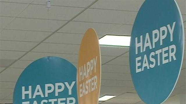 Despite cold weather, shoppers are in the spring spirit