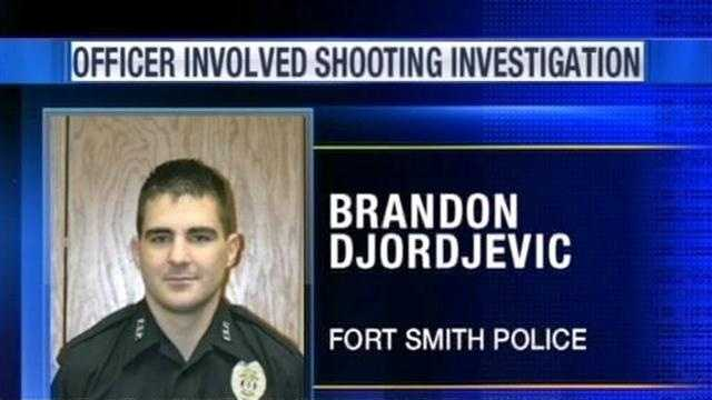 A Fort Smith officer is on paid administrative leave following a shooting early Sunday morning.