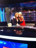 6. Turner's godmother Lauren, who's also my best friend, is a television anchor in Springfield, Missouri. You can watch her on KSPR when you travel that way.