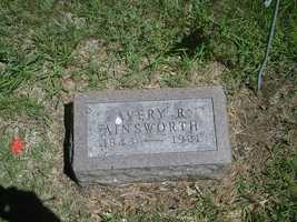 10. AveryAvery R. Ainsworth was a Union soldier who marched with General Banks in the Red River campaign.