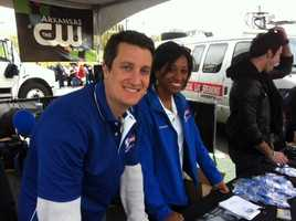 Meteorologists Drew Michaels and Brittany Bell predict hundreds of families will be helped by your gifts