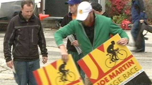 Joe Martin Stage Race will close down some streets in Fayetteville over the weekend.