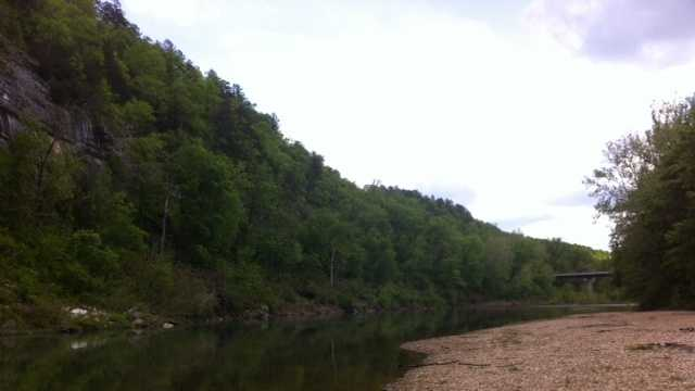 Protesters worry fertilizer runoff could end up in the Buffalo National River.